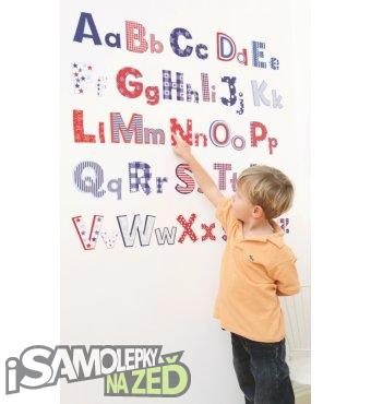 Dětské samolepky na zeď - Abeceda 1