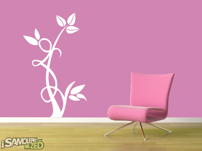 Samolepky na zeď - Květinový motiv 5