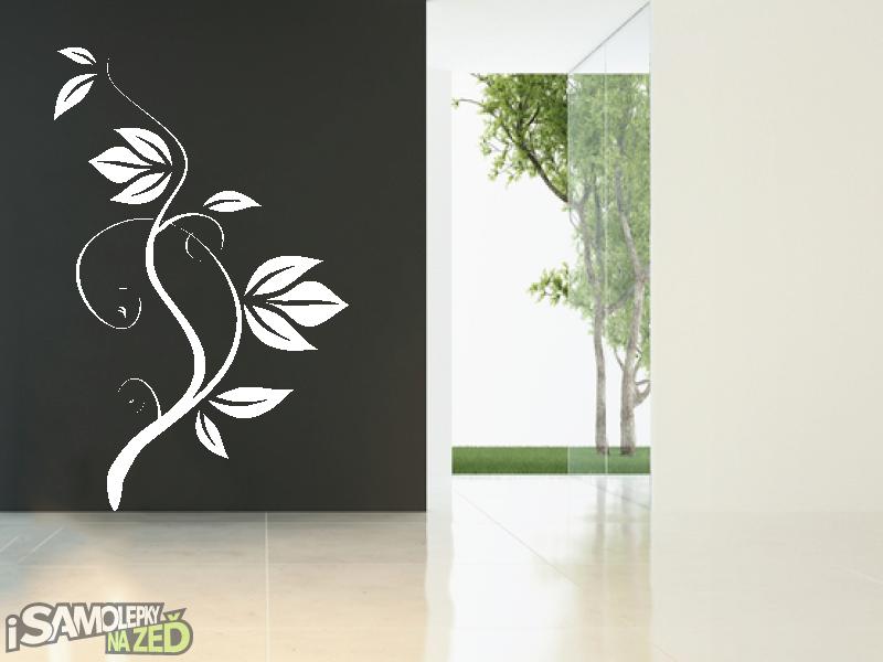 Samolepky na zeď - Samolepka na zeď - Popínavá rostlina 2