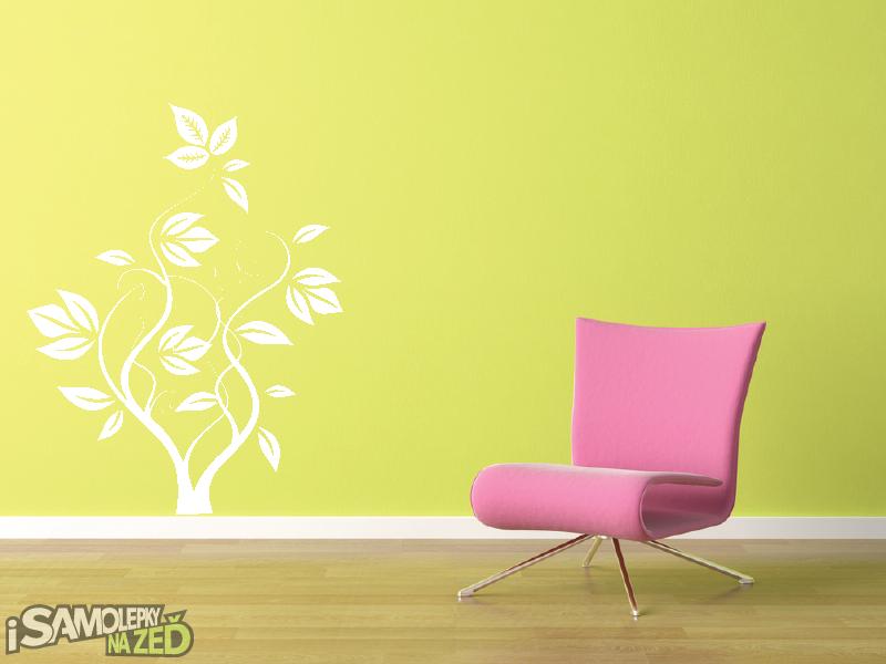Samolepky na zeď - Samolepka na zeď - Popínavá rostlina-1