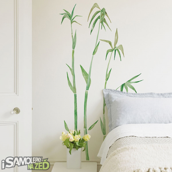 Samolepky na zeď - Bambus 1