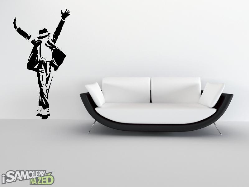 Samolepky na zeď - Samolepka na zeď - Michael Jackson