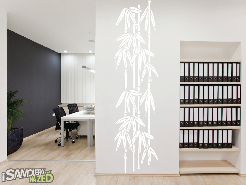 Samolepky na zeď - Bambus