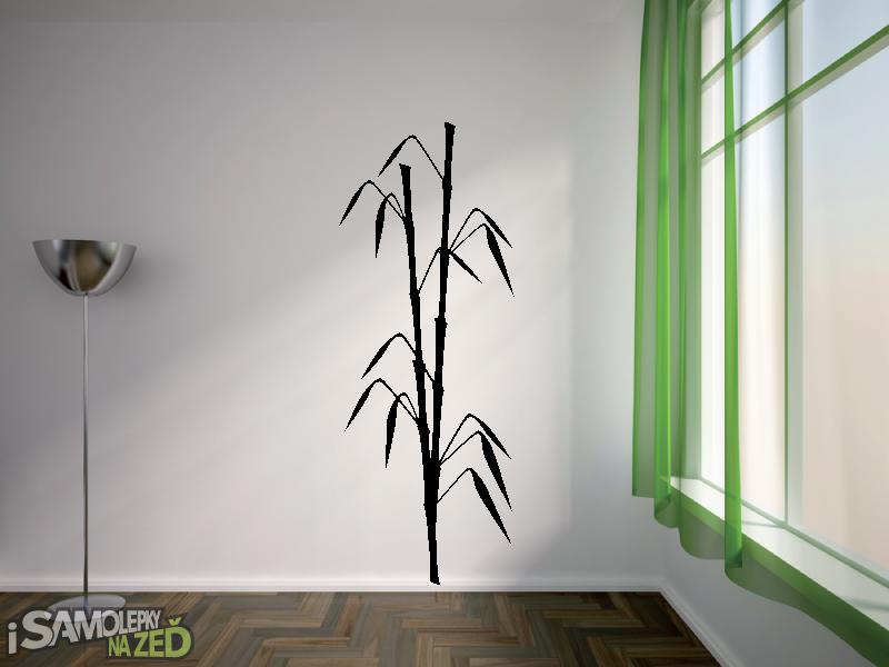 Samolepky na zeď - Bambus v2