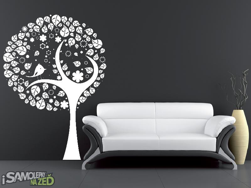 Samolepky na zeď - Samolepka na zeď - Strom v1