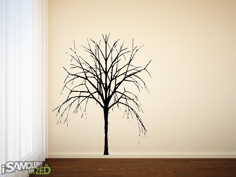 Samolepky na zeď - Samolepka na zeď - Strom bez listí