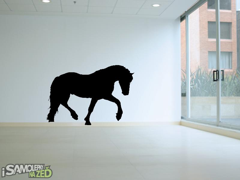 Samolepky na zeď - Kůň v1