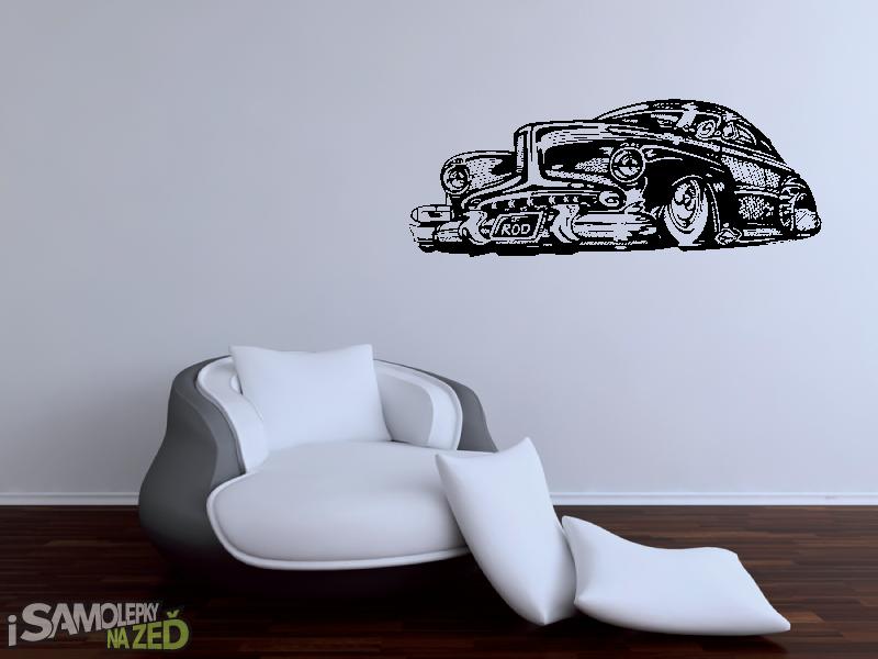Samolepky na zeď - Samolepka na zeď - Buick v2