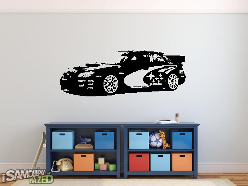 Samolepky na zeď - Samolepka na zeď - Subaru Impreza