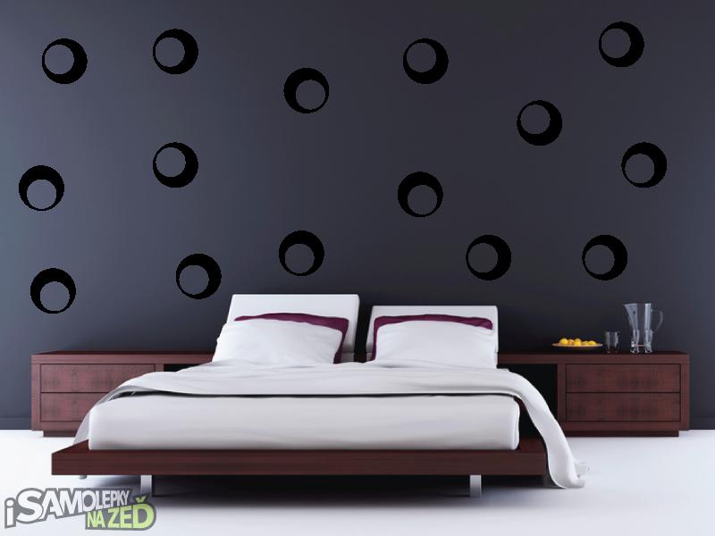 Samolepky na zeď - Samolepka na zeď - Dekorativní bubliny