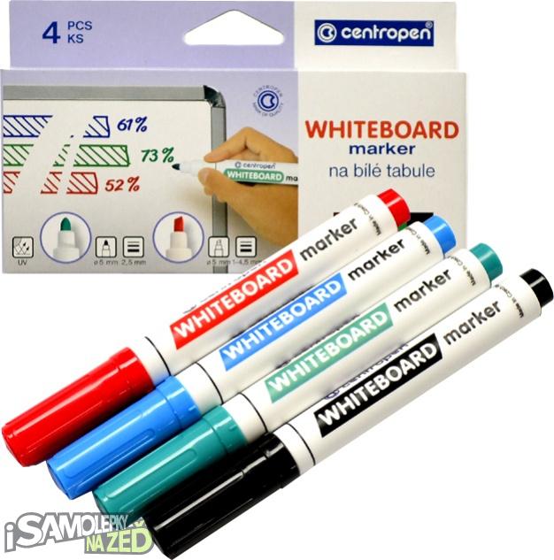 Samolepící tabule - Fixy na bílé tabule