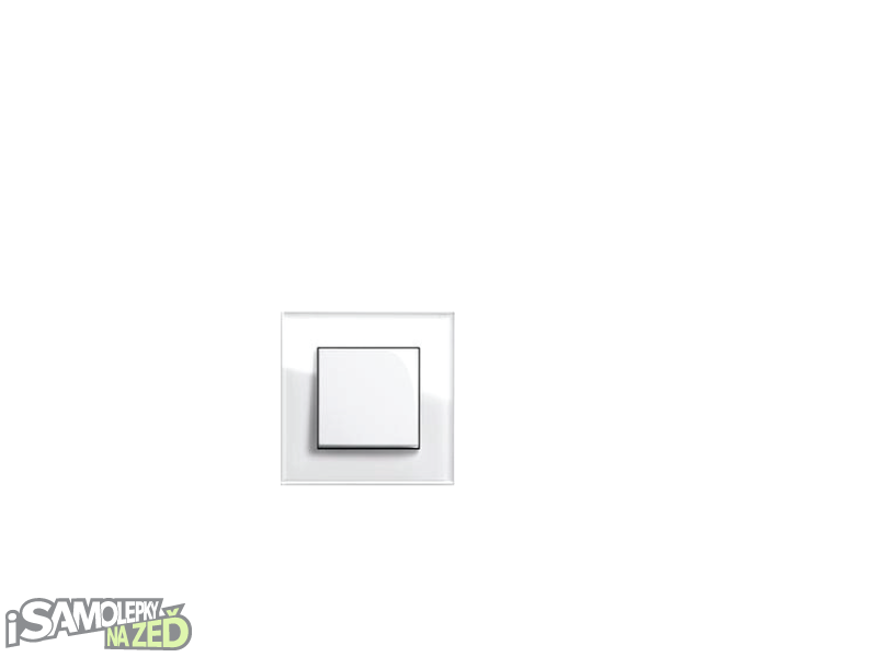 Samolepky pod vypínače - Samolepka pod vypínač - Králík