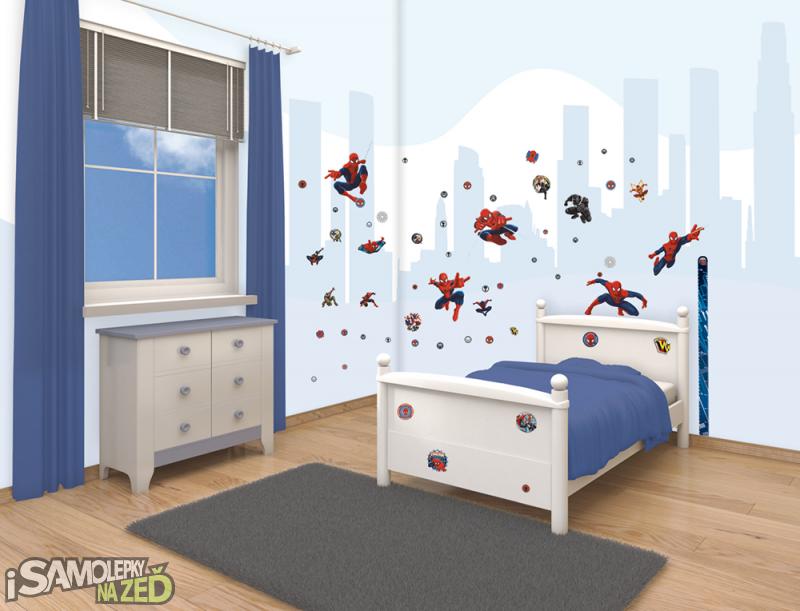 Dětské samolepky na zeď - Spiderman
