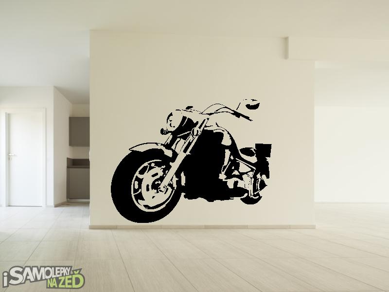 Dětské samolepky na zeď - Harley v2