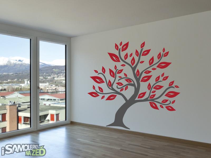 Samolepky na zeď - Samolepka na zeď - Listnatý strom