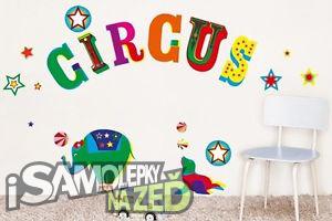 Samolepky na zeď - Circus