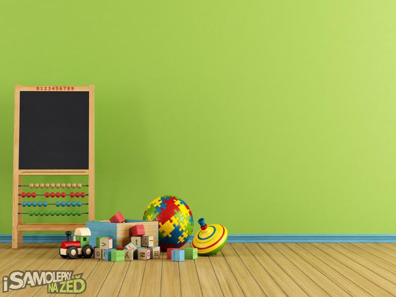 Dětské samolepky na zeď - Robot 1