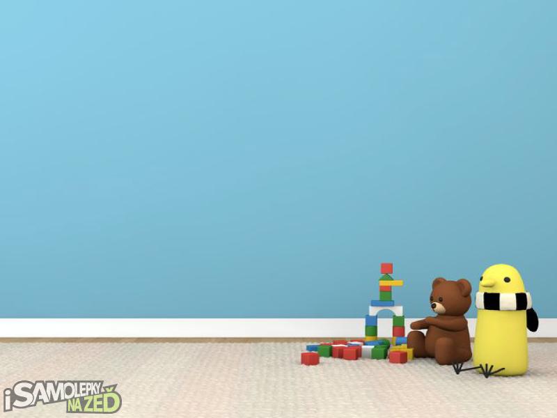 Dětské samolepky na zeď - Samolepka na zeď - Robot 2