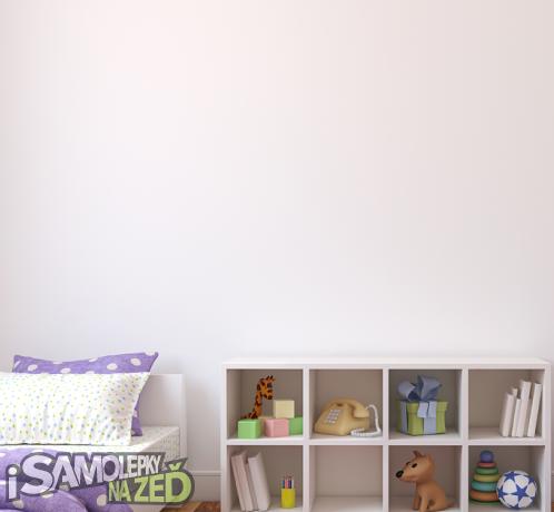 Dětské samolepky na zeď - Baletka