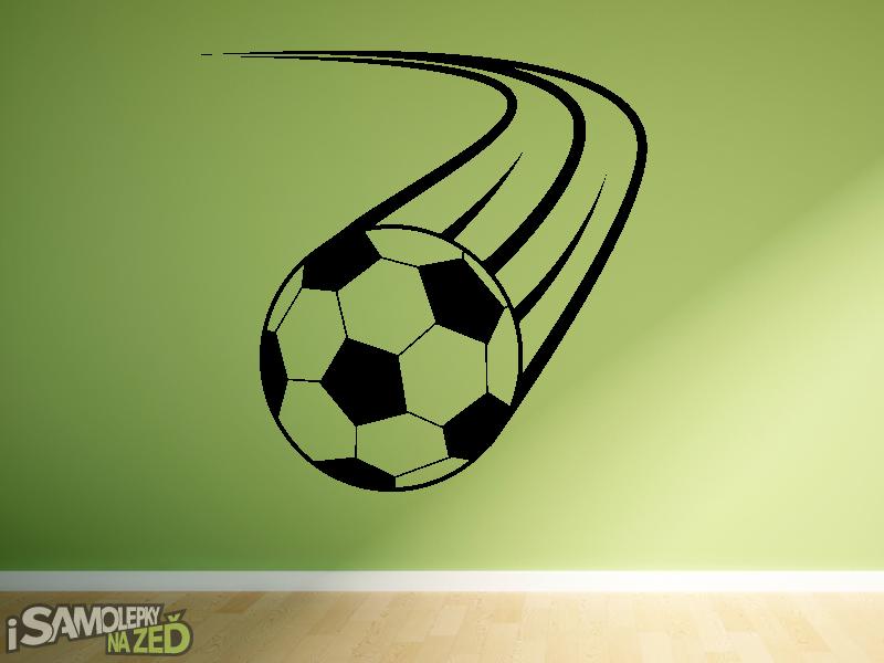 Dětské samolepky na zeď - Samolepka na zeď - Fotbalový míč