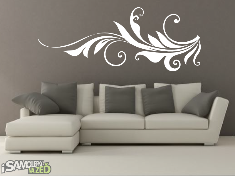 Samolepky na zeď - Ornament V4