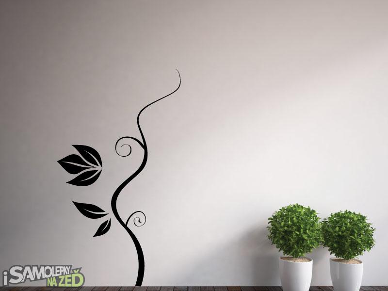 Samolepky na zeď - Popínavá rostlina 3 - výprodej