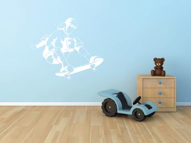 Samolepka na zeď - Skater