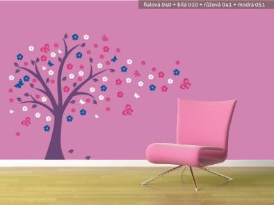 Samolepka na zeď - Pohádkový strom