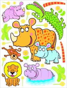 Nosorožík a jeho velká rodina