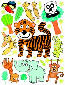 Tygřík a jeho kamarádi