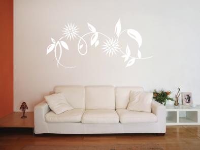 Samolepka na zeď - Dekorační bodlák