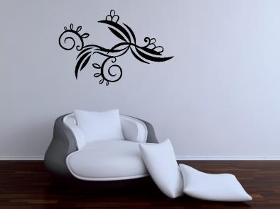 Samolepka na zeď - Andělská květina