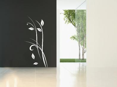 Samolepka na zeď - Květinový motiv 1