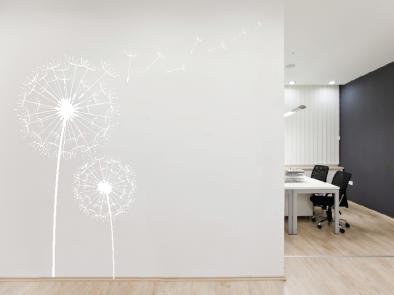 Samolepka na zeď - Pampelišky