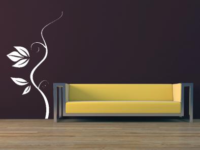 Samolepka na zeď - Popínavá rostlina 3