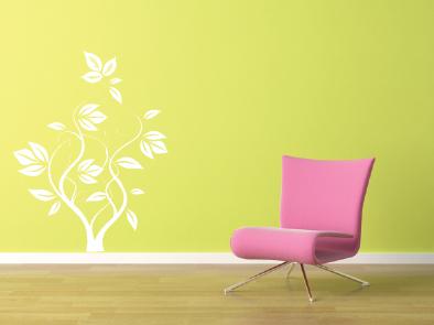 Samolepka na zeď - Popínavá rostlina-1