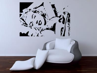 Samolepka na zeď - Marylin Monroe