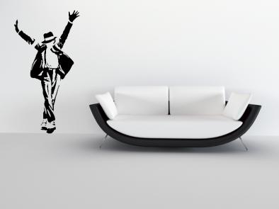 Samolepka na zeď - Michael Jackson