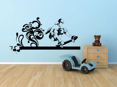 Samolepka na zeď - Skater V2