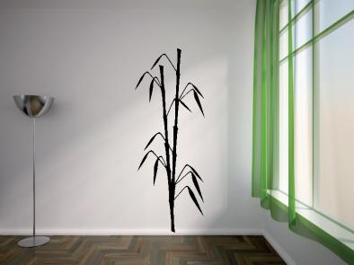 Samolepka na zeď - Bambus v2