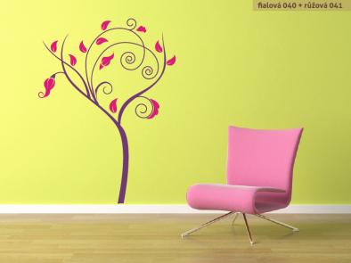 Samolepka na zeď - Moderní strom v3