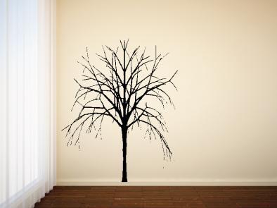Samolepka na zeď - Strom bez listí