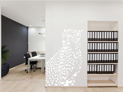 Samolepka na zeď - Gepard