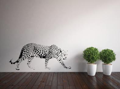 Samolepka na zeď - Gepard na lovu