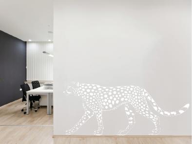 Samolepka na zeď - Gepard v2