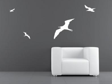Samolepka na zeď - Ptáci