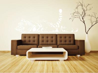 Samolepka na zeď - Spící tygr