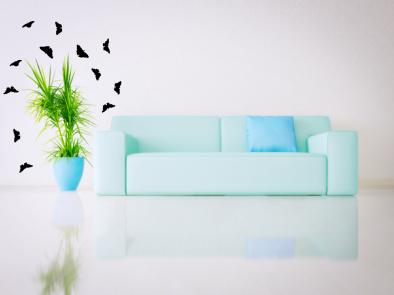 Samolepka na zeď - Motýlci