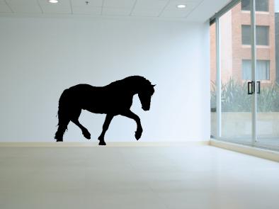 Samolepka na zeď - Kůň v1