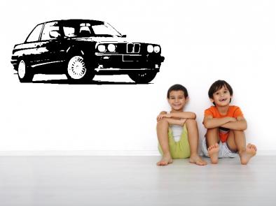 Samolepka na zeď - Auto